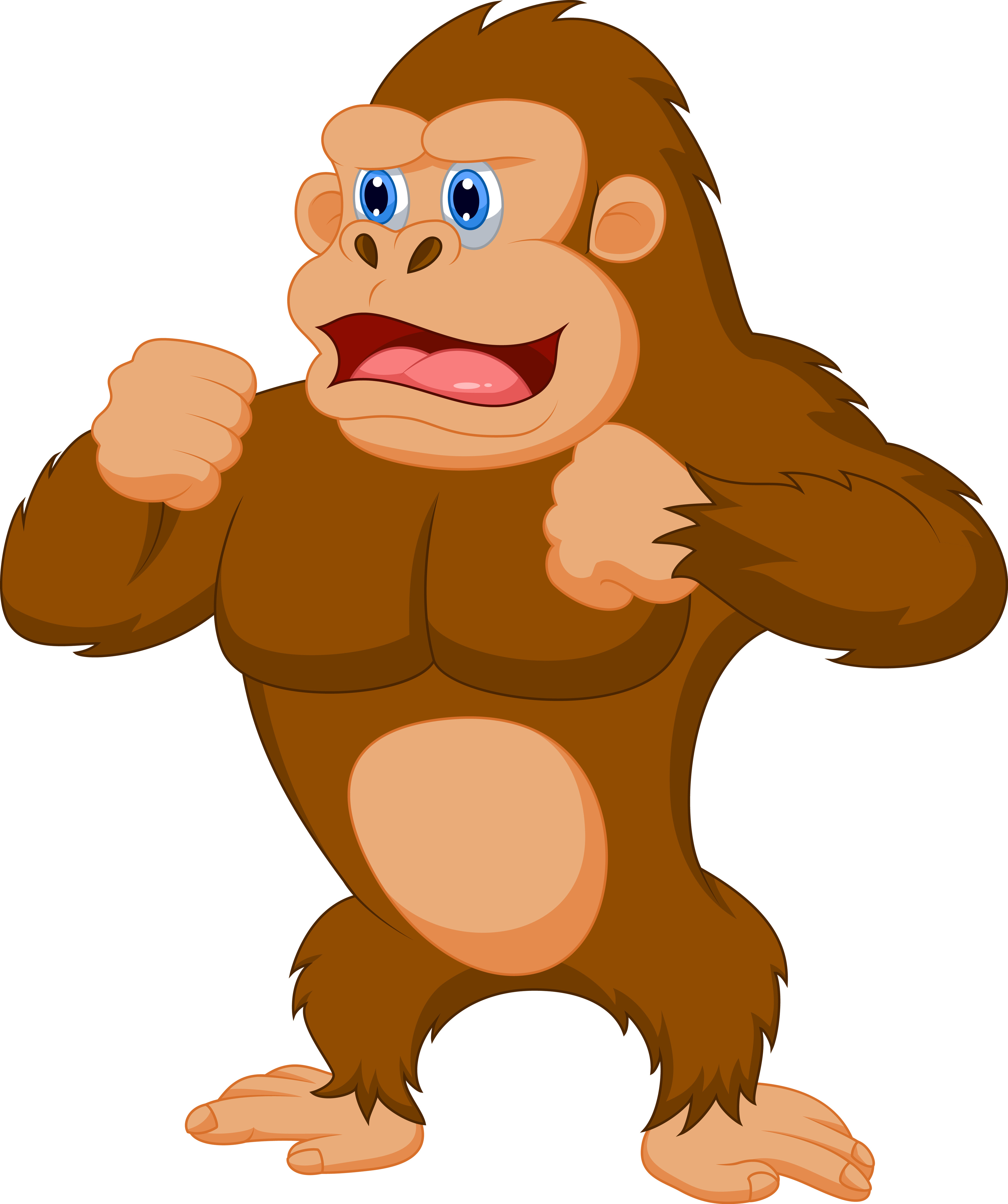 jpg transparent library Ape clipart. For free images .