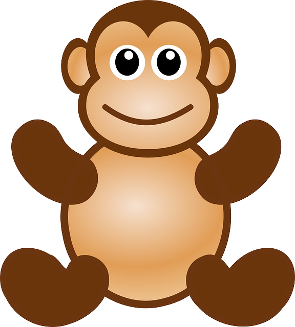 clip black and white library Ape clipart animated. Horde clipground free pictures