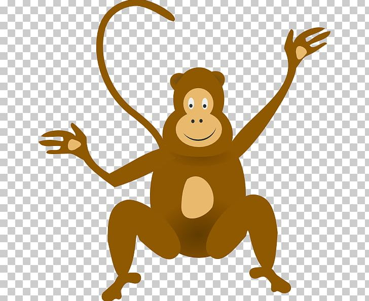 clip art royalty free Monkey jungle baboons baby. Ape clipart baboon