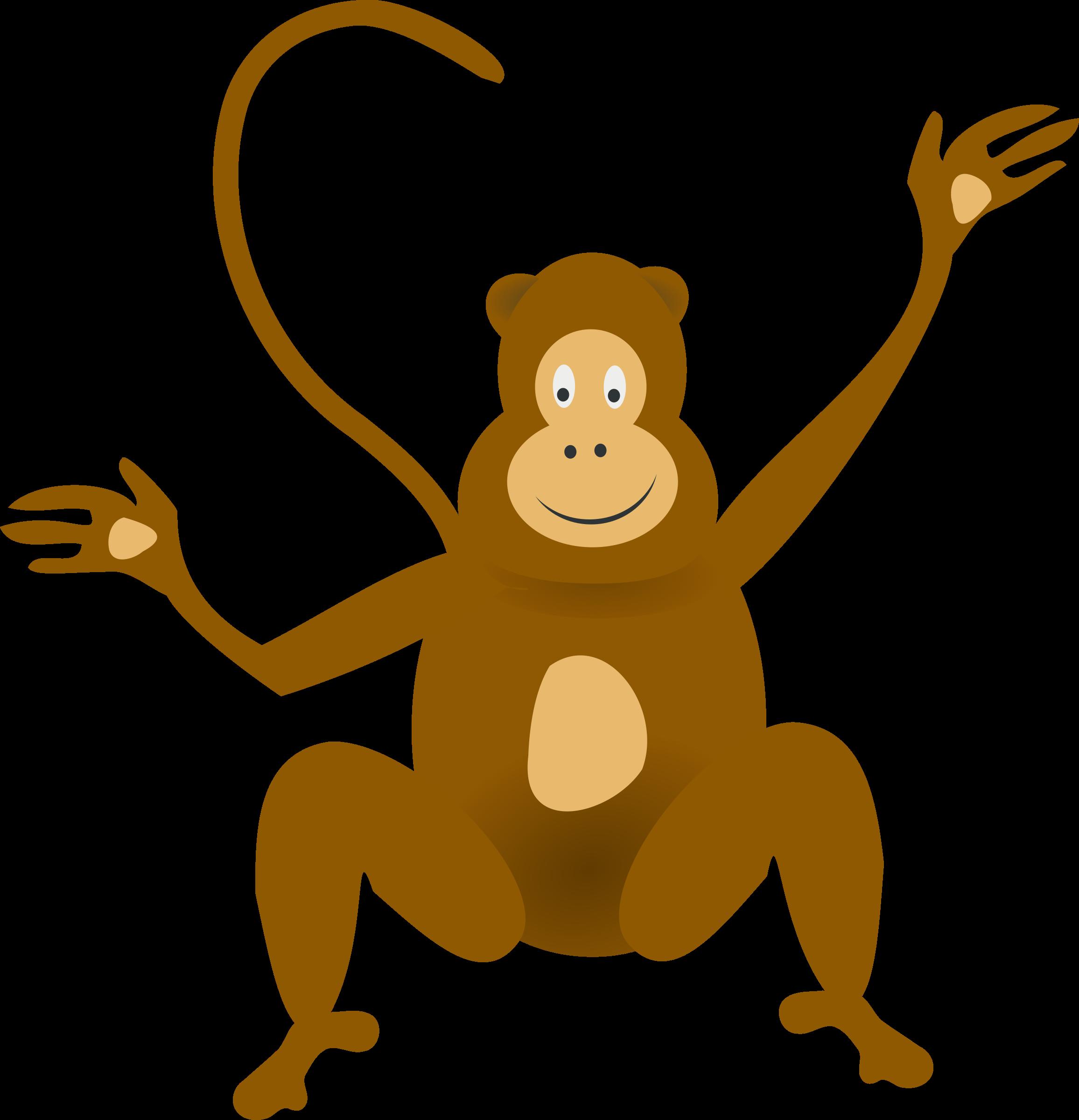 jpg transparent stock Ape clipart baboon. Monkey