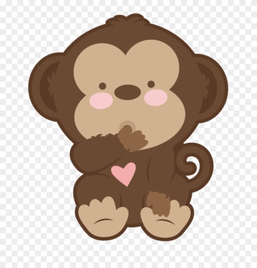 graphic library stock Monkey clip art ba. Ape clipart baby