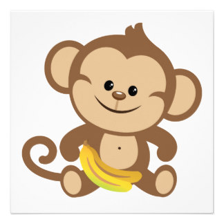 clip art Transparent free for download. Ape clipart baby