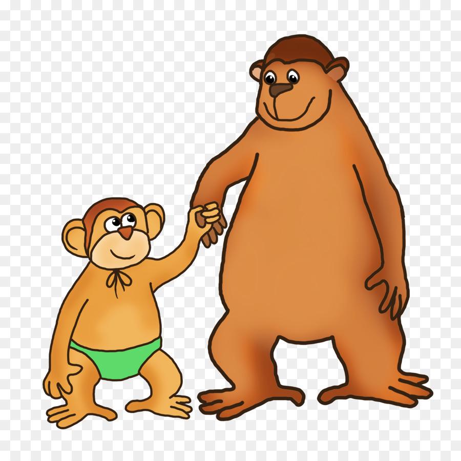 image library download Ape clipart big monkey. Beaver cartoon drawing bear