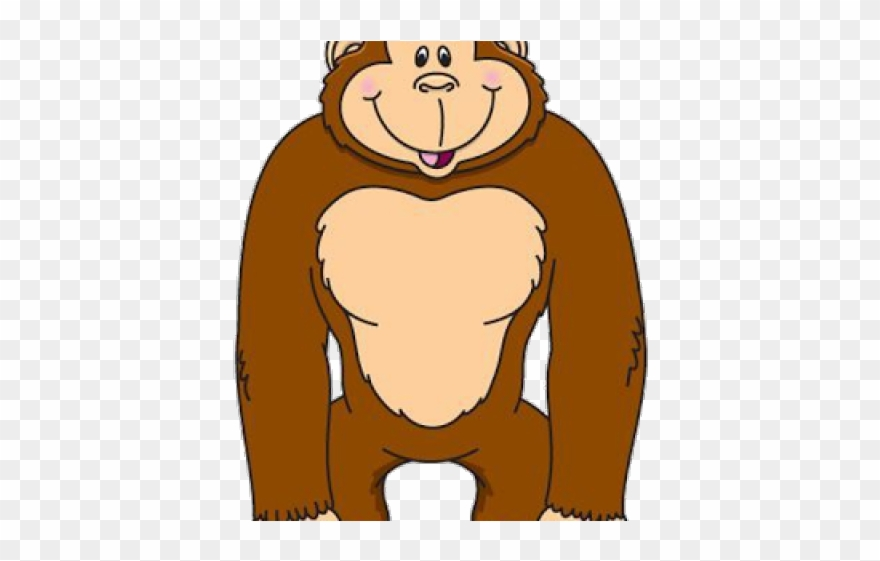picture transparent download Ape clipart body. Gorilla of png download