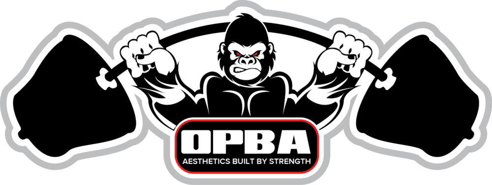 clip art transparent library Opba competition tee ohio. Ape clipart bodybuilding