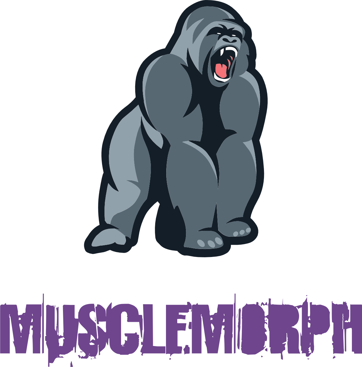picture The freaks of steemit. Ape clipart bodybuilding