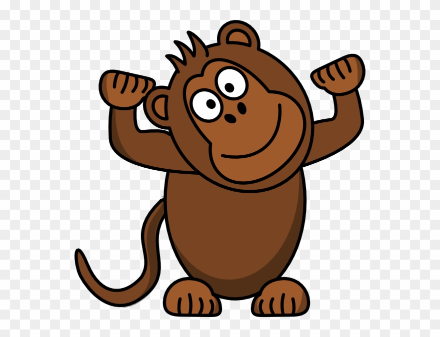 clipart Ape clipart brown. Monkey png download pinclipart