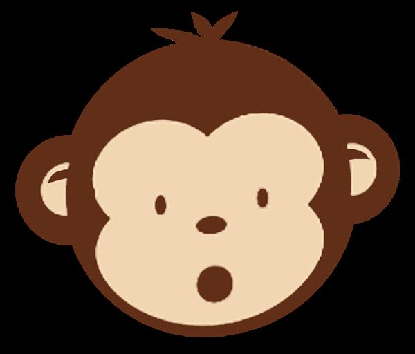 svg free stock Ape clipart chango. Monkey clip art pinterest