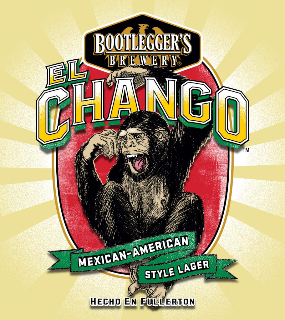 freeuse library El bootleggers brewery . Ape clipart chango