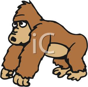 freeuse download Transparent free for . Ape clipart clip art