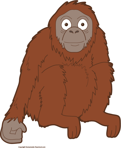 clip library Ape clipart cute. At getdrawings com free