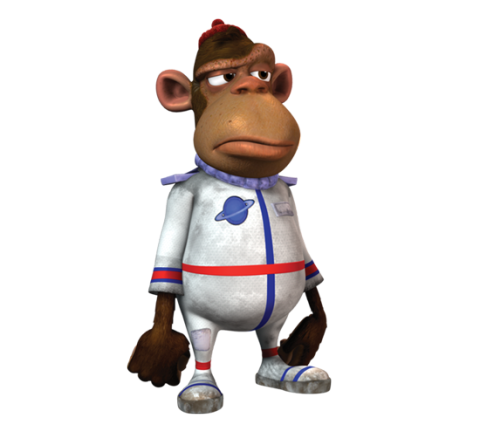 svg black and white download Ape clipart dead monkey. Mr nesmith jimmy neutron