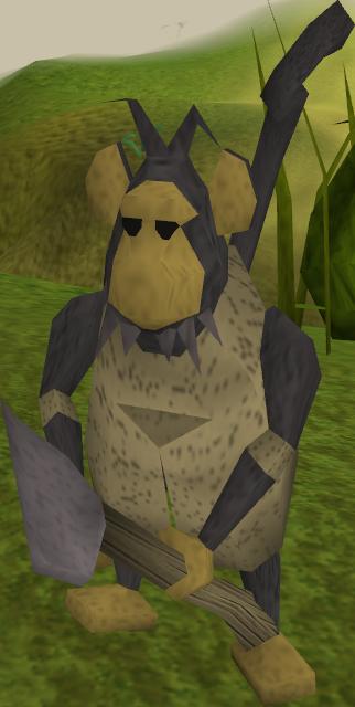 vector royalty free library Ape clipart dead monkey. Dugopul runescape wiki fandom