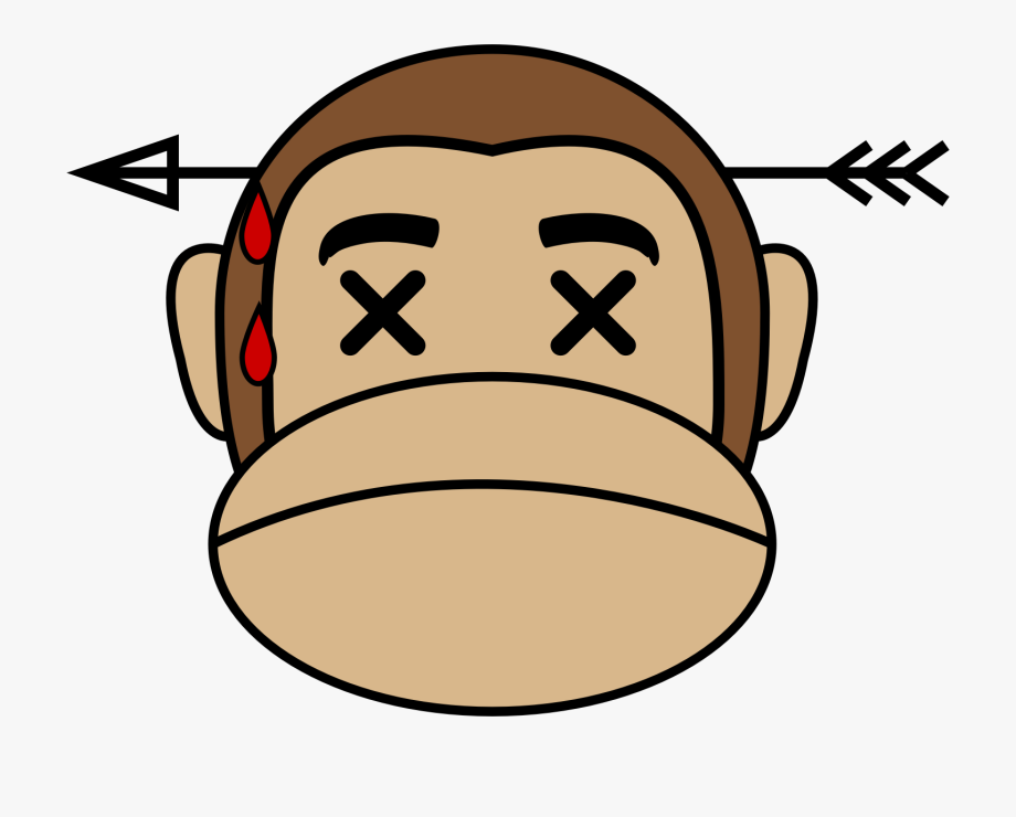 free library Ape clipart dead monkey. Monket png free cliparts