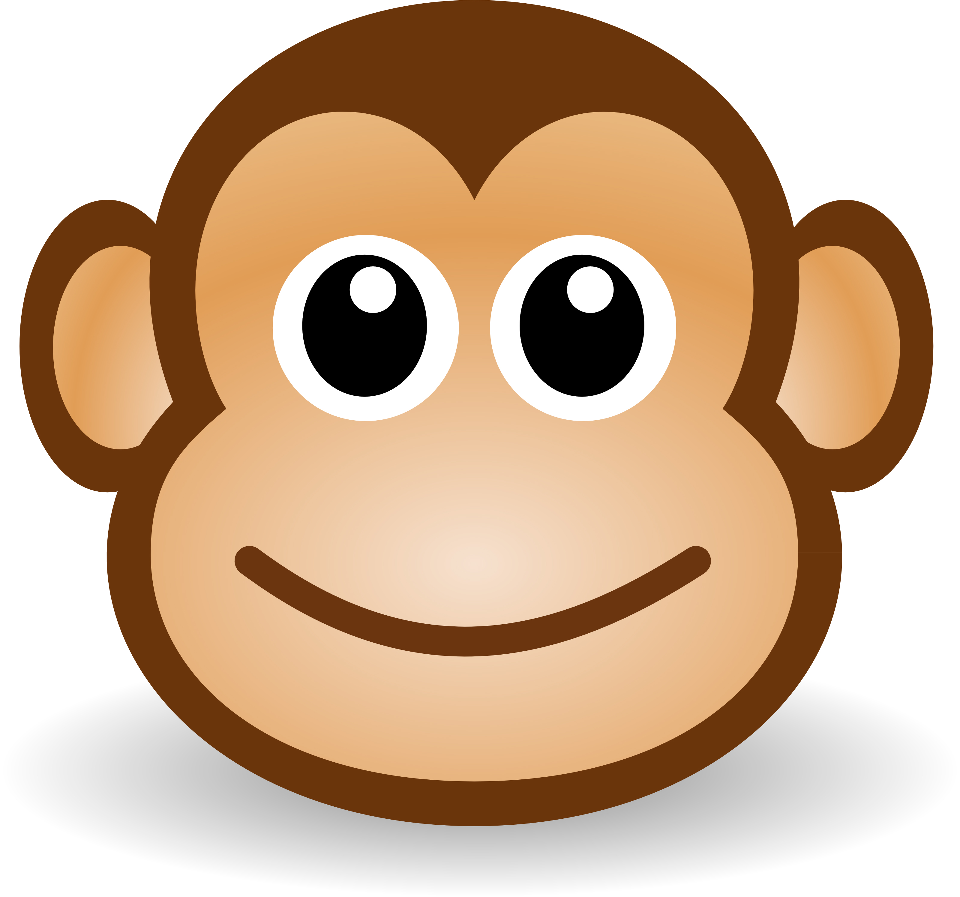 png free Ape clipart easy. Transparent free for download