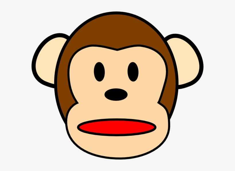 jpg black and white library Ape clipart female gorilla. Image free download monkey