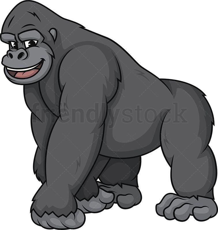 image download Happy of animals in. Ape clipart gorilla