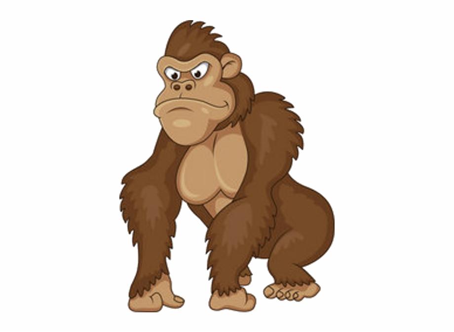 banner free Ape clipart gorilla. Transparent free for