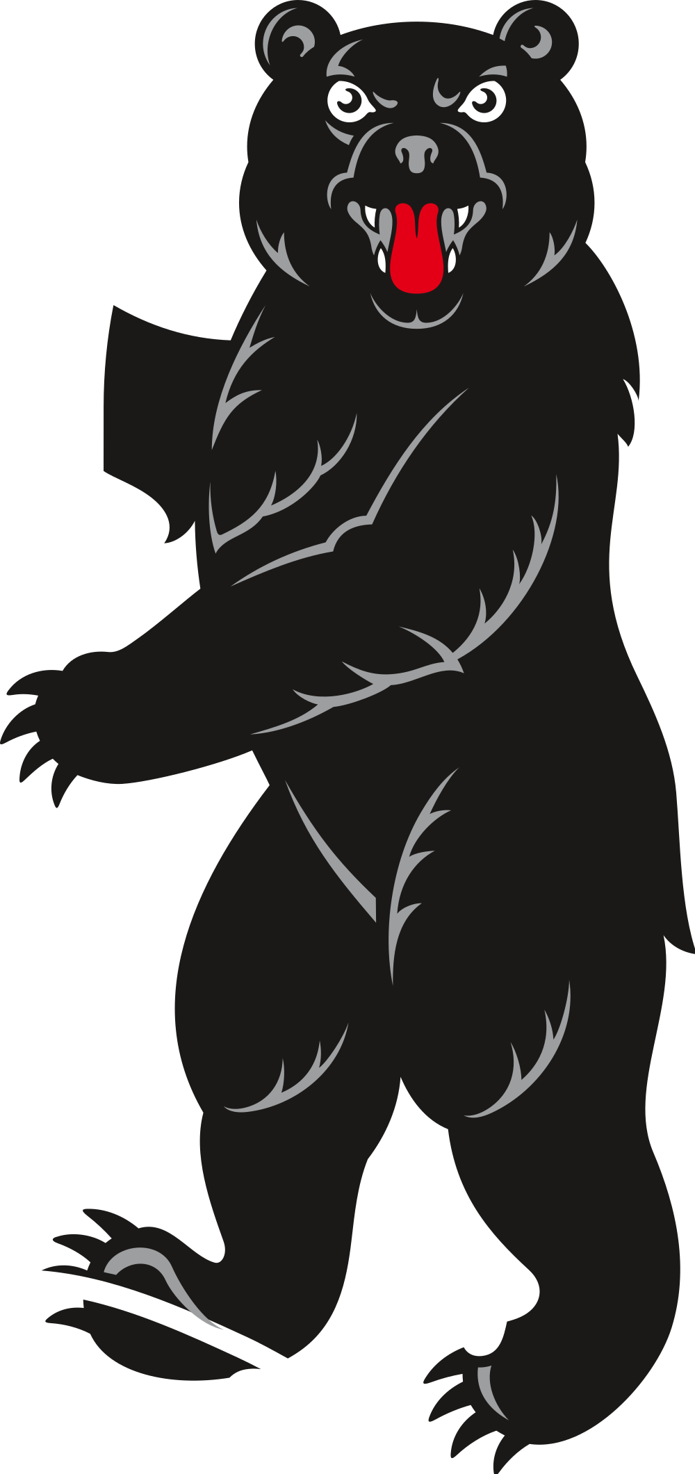 jpg library library File bear from coat. Ape clipart gorilla arm