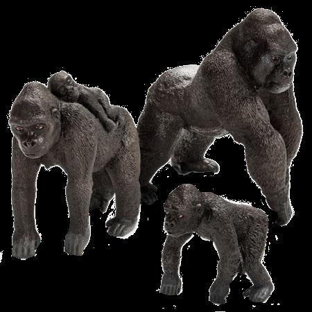 graphic free Congo playfield gorillas modfather. Ape clipart gorilla family
