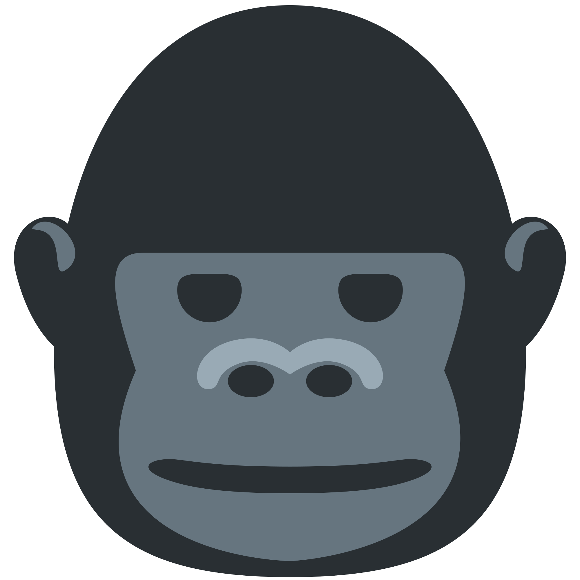 clipart black and white library Collection of free guerilla. Ape clipart gorilla family.