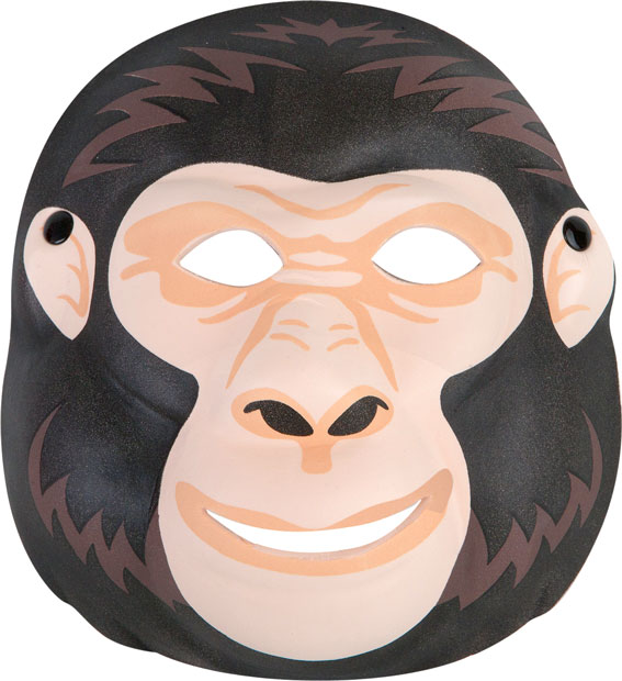 picture royalty free library Transparent free . Ape clipart gorilla mask