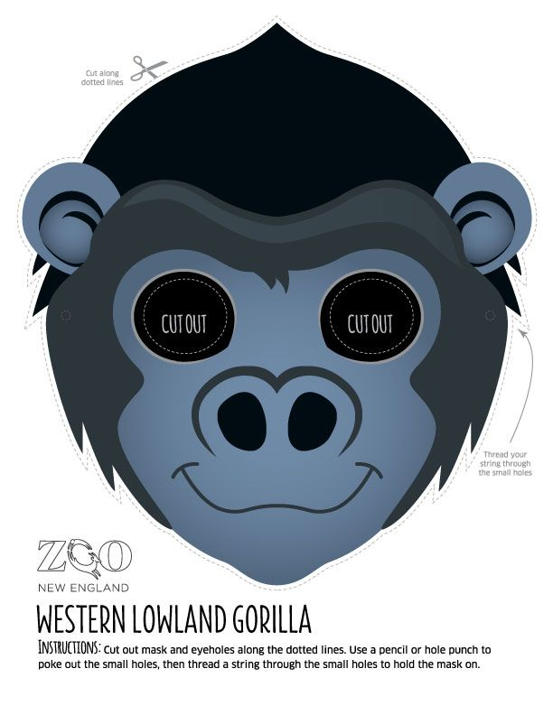 png library download Ape clipart gorilla mask. Western lowland zoo new