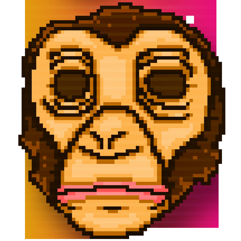 picture black and white Ape clipart gorilla mask. Willem hotline miami wiki