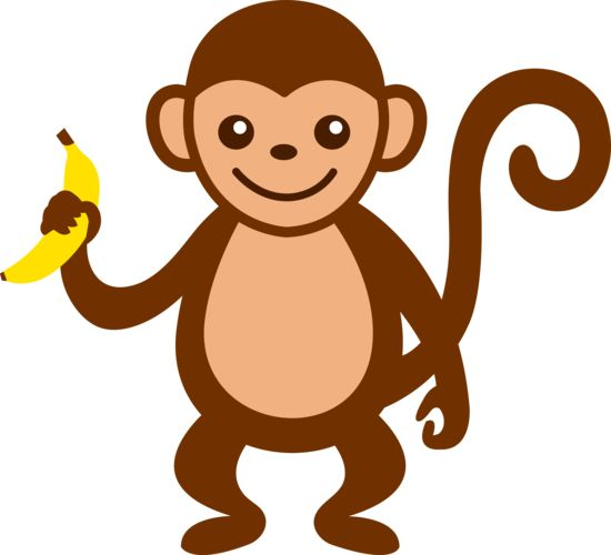 png freeuse library Ape clipart happy. Free monkey cliparts download