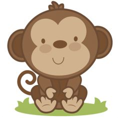 image library Ape clipart kid. Baby transparent free for