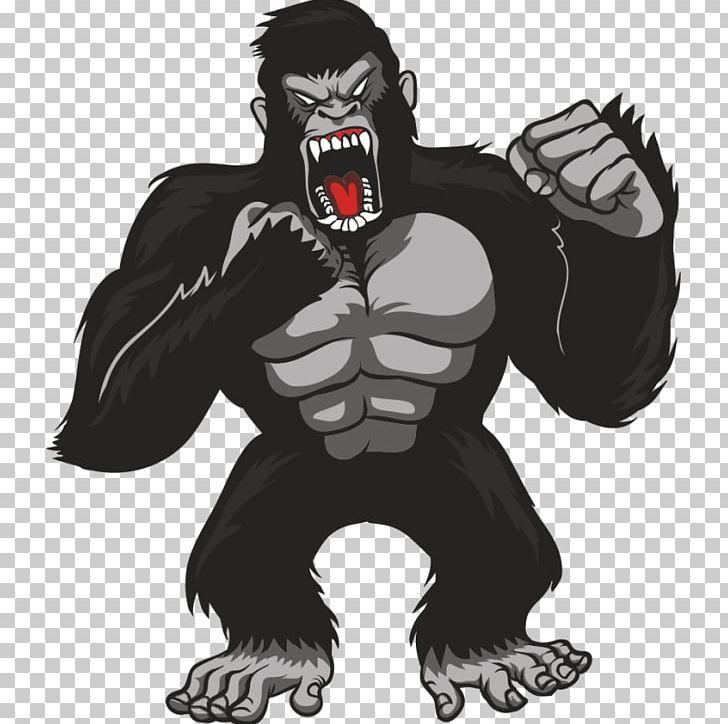 clipart free Ape clipart king kong. Gorilla graphics t shirt