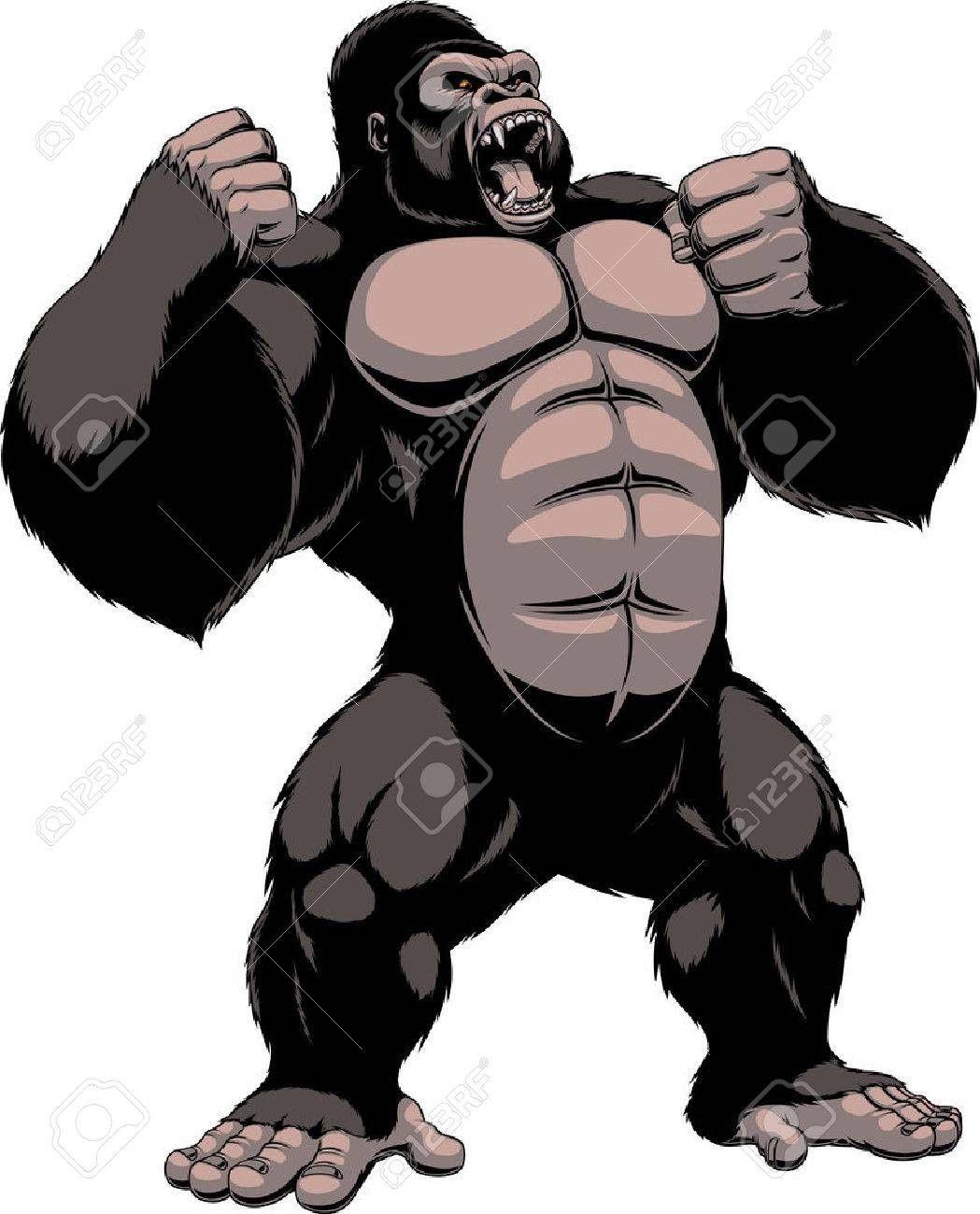 clipart Ape clipart king kong. Tattoo ideas creature drawings