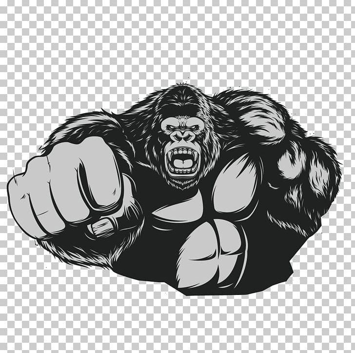 png stock Western gorilla chimpanzee png. Ape clipart king kong