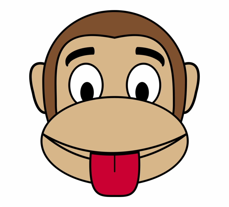 clip library download Ape clipart mokey. Emoji monkey happiness smiley