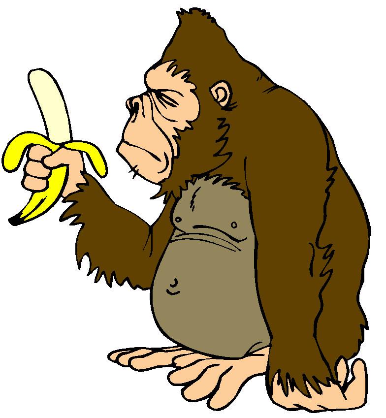 vector freeuse download Monkeys clip art farm. Ape clipart mongkey