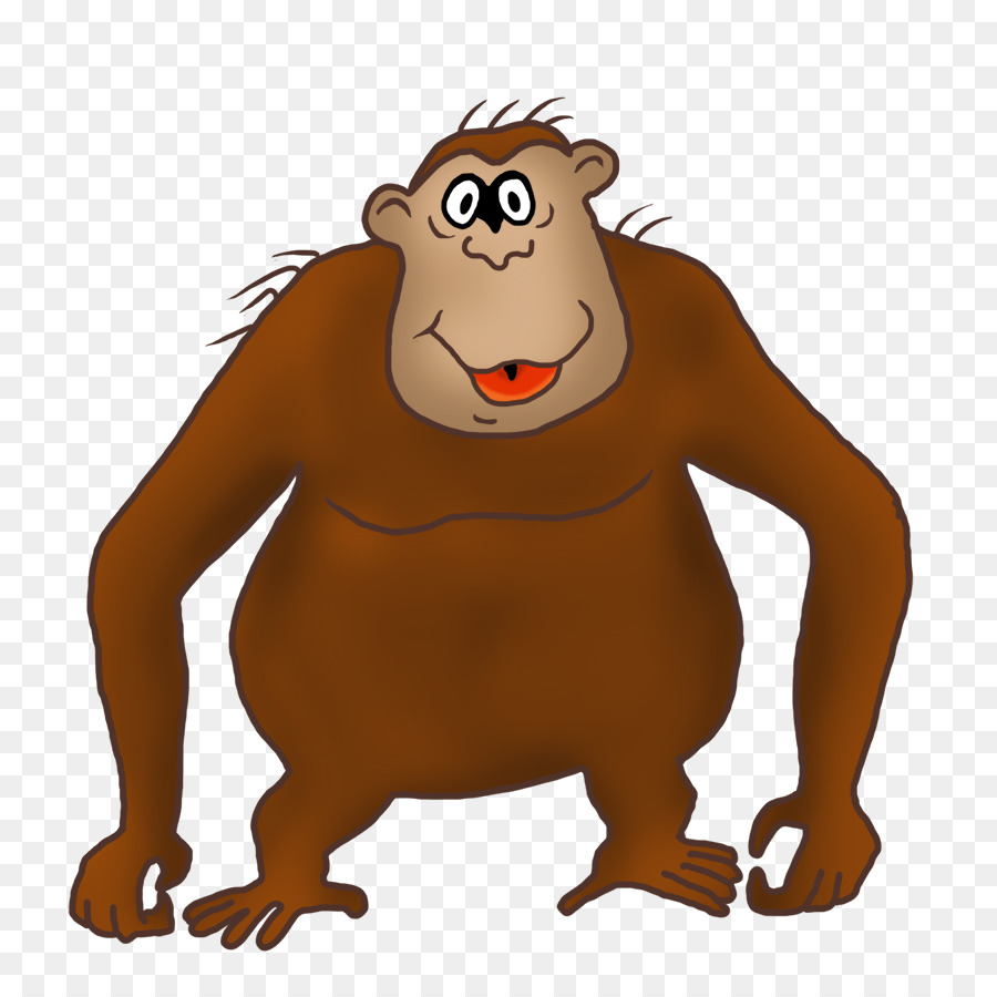 graphic library stock Gorilla drawing clip art. Ape clipart mongkey