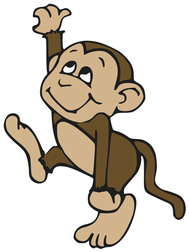 graphic royalty free download Ape clipart mongkey. Transparent background free on