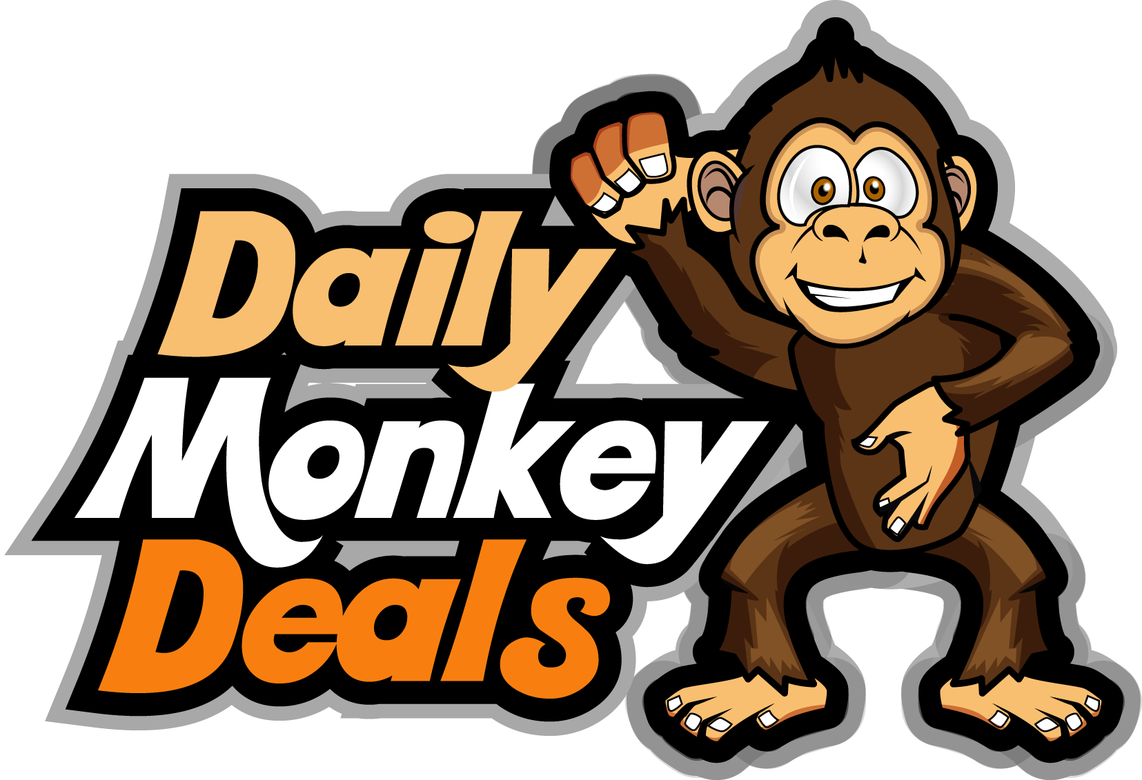 banner freeuse library Daily monkey deals exclusive. Ape clipart monke.