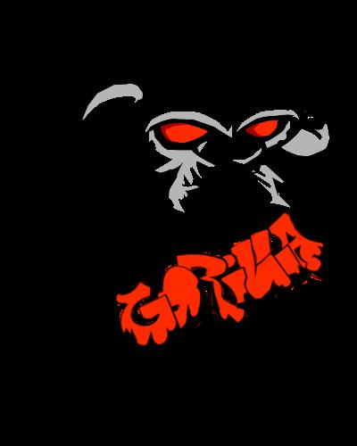 clip art transparent download Img evil graffiti monkey. Ape clipart monke