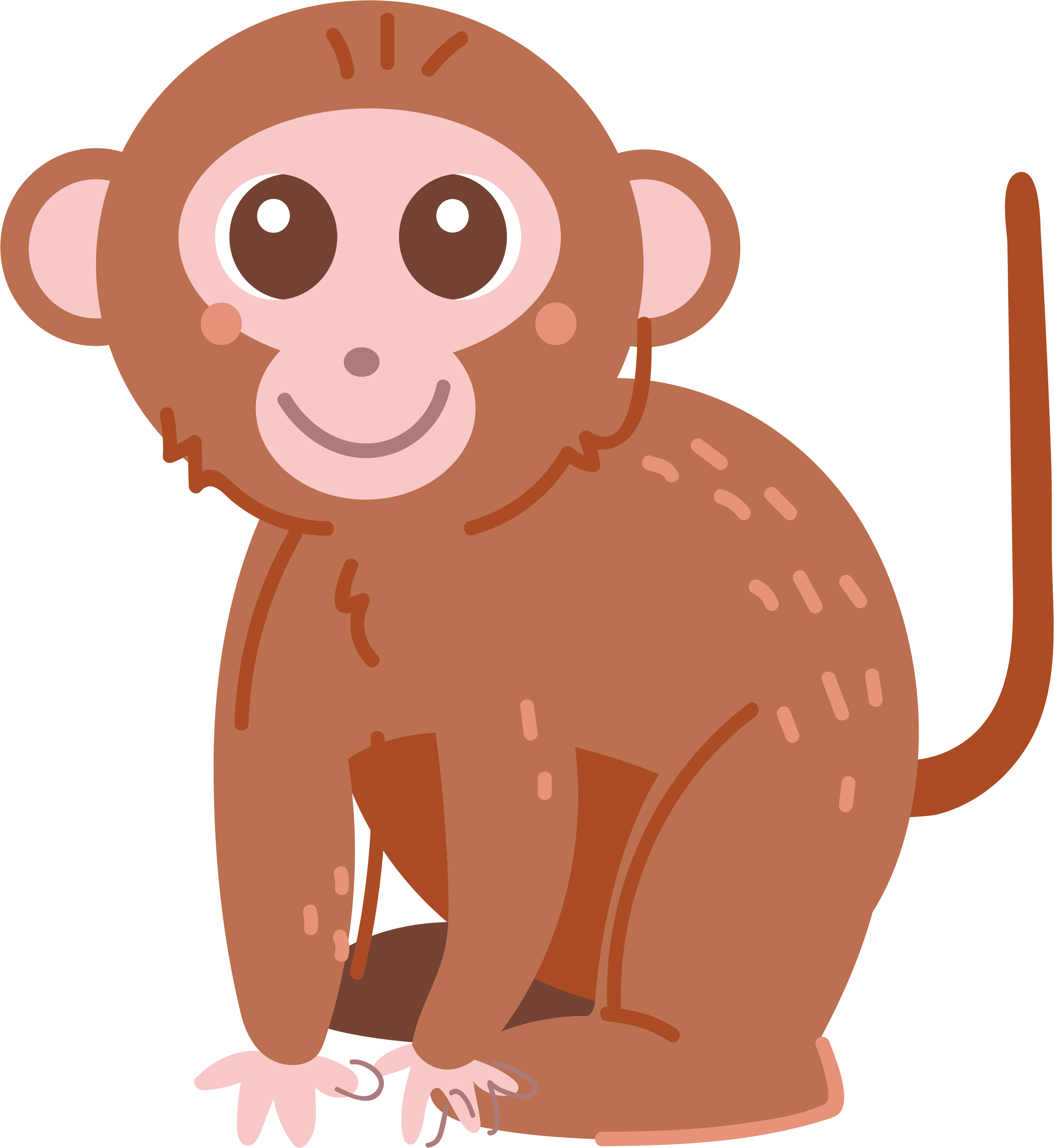 black and white download Ape clipart monket. Monkey primate clip art