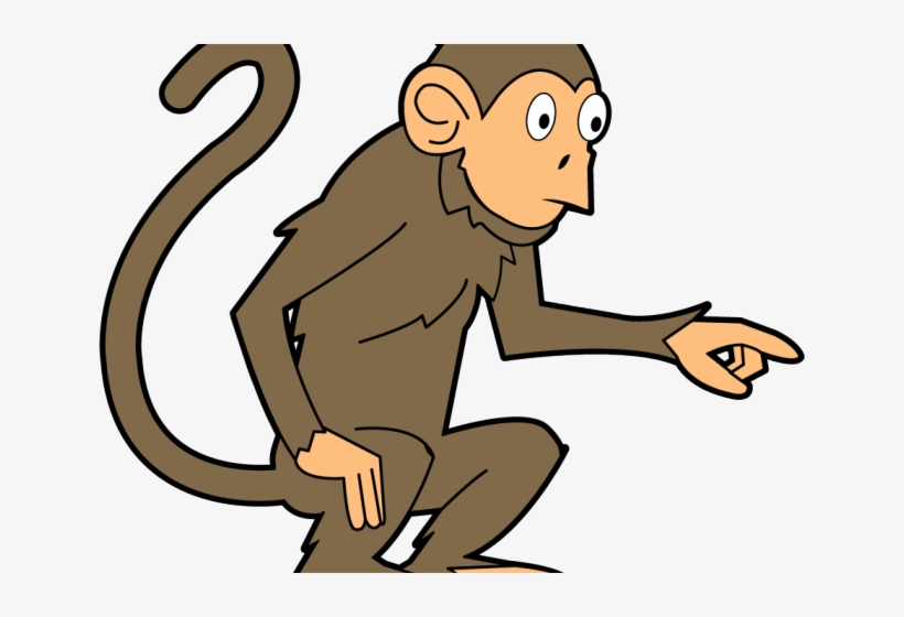 banner free Ape clipart monkey tail. Chimpanzee no