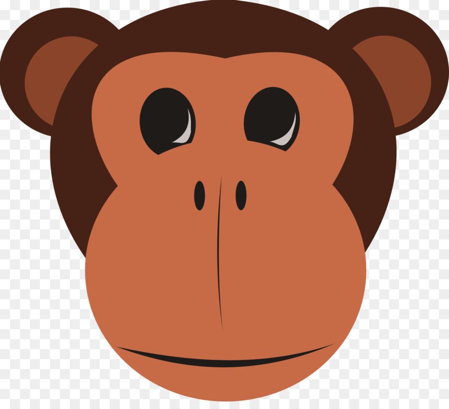 banner free stock Ape clipart monley. Monkey drawing cartoon snout