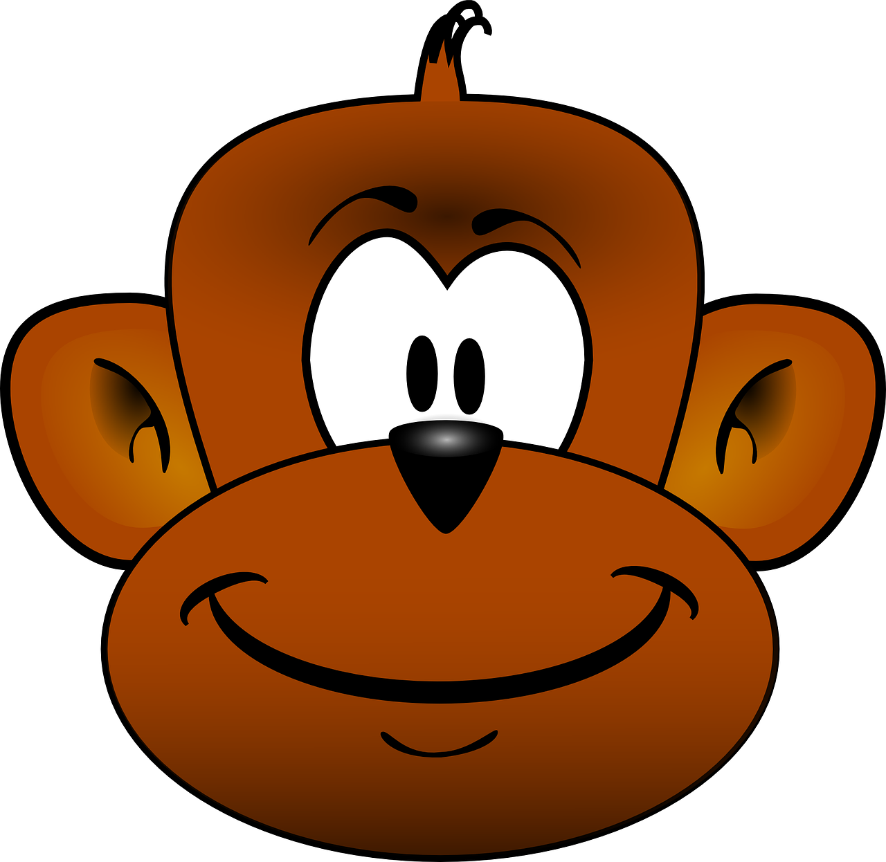 vector free library Ape clipart monley. Apes online group drew