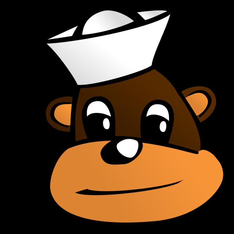 jpg transparent library Ape clipart primate. Monkey chimpanzee cartoon free