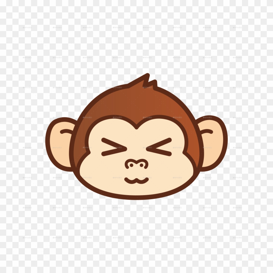 picture royalty free Pin monkey clip art. Ape clipart sad.