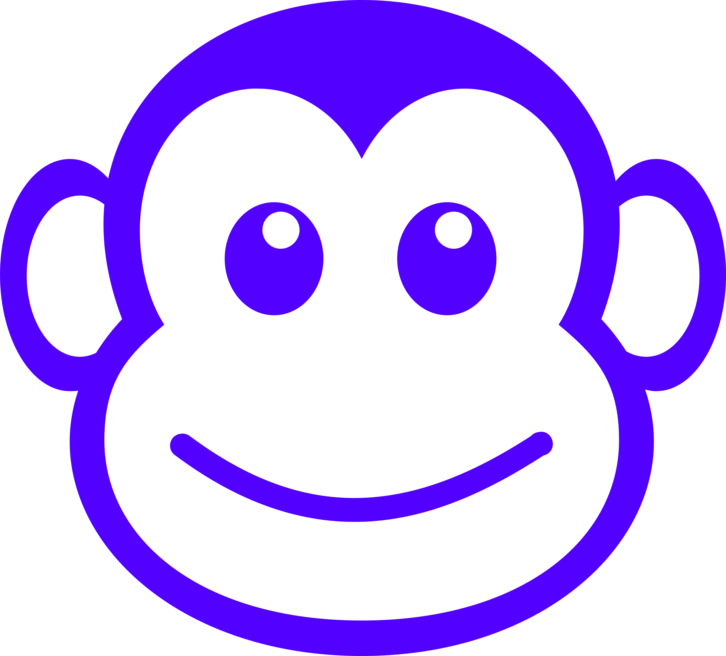 png transparent library Ape clipart svg. Monkey head drawing at
