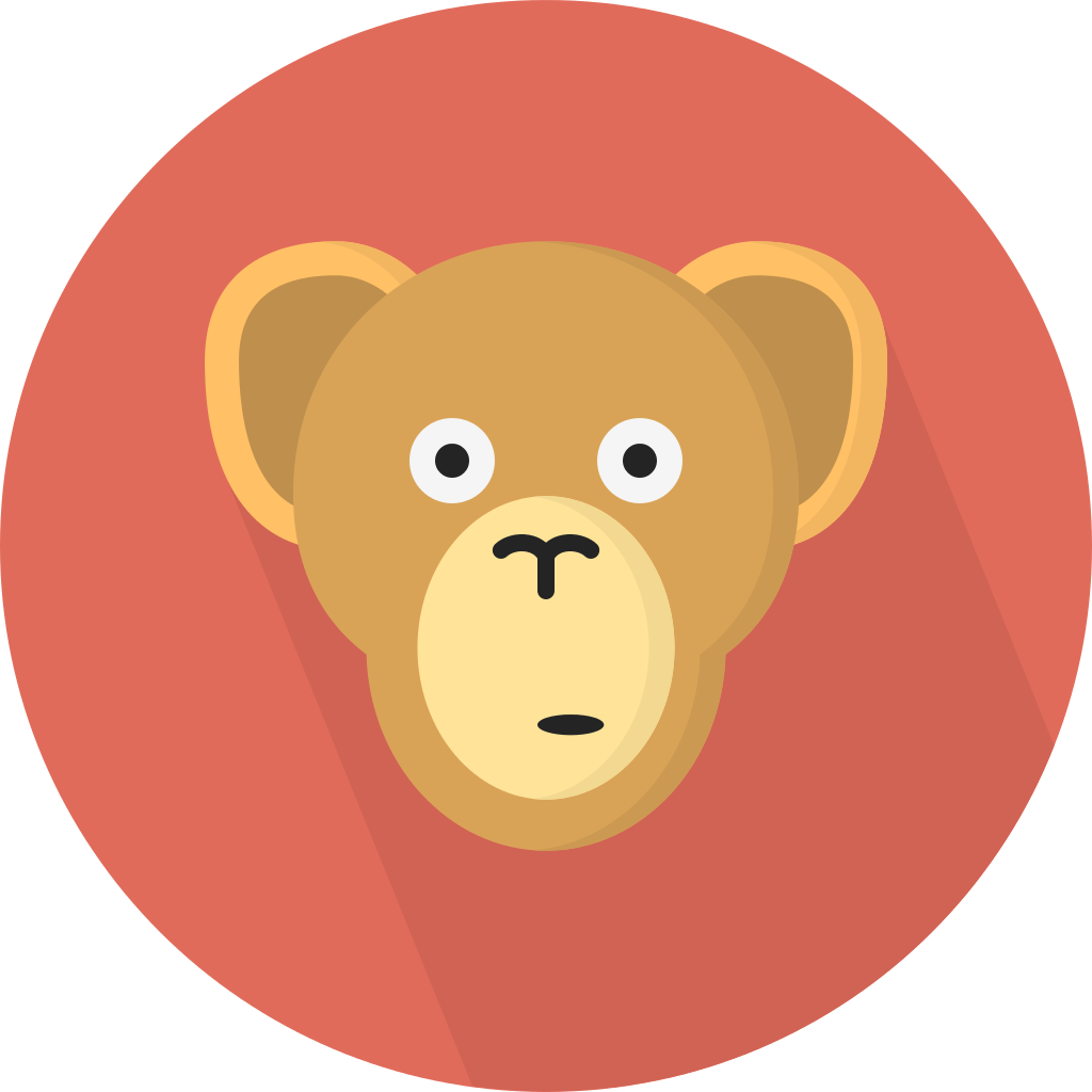 clip freeuse library File creative tail animal. Ape clipart svg