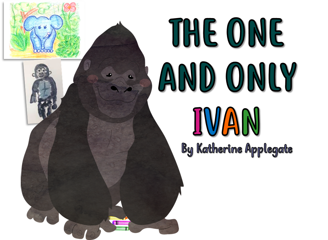 clip library library Bloggerific april today we. Ape clipart the one and only ivan
