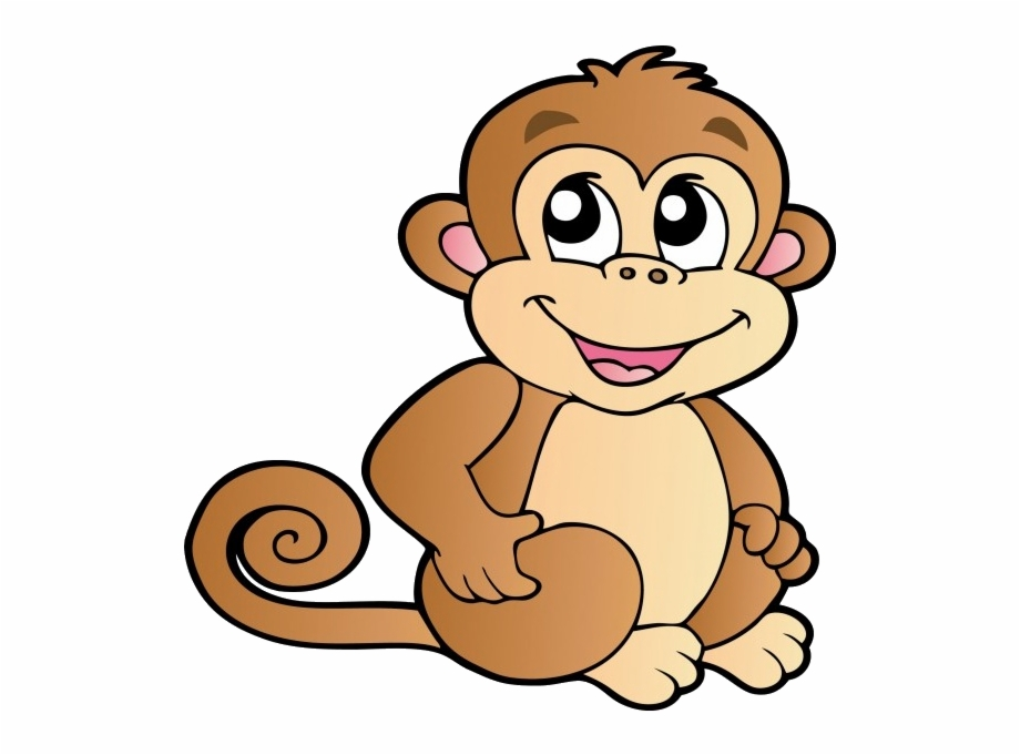 image black and white stock Ape clipart transparent background. Monkey clip .