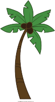 clip black and white library Ape clipart tree. Free monkey palm.